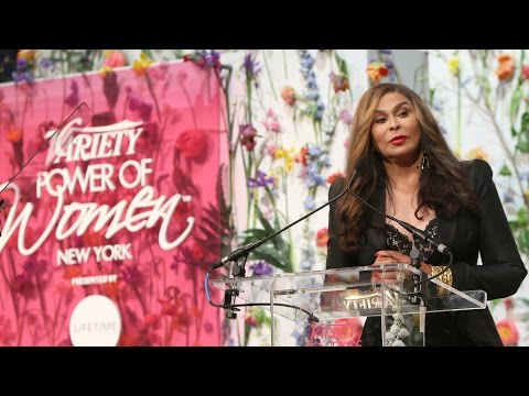 Tina Knowles Lawson Receives the Community Commerce Impact Award at Variety's Power of Women