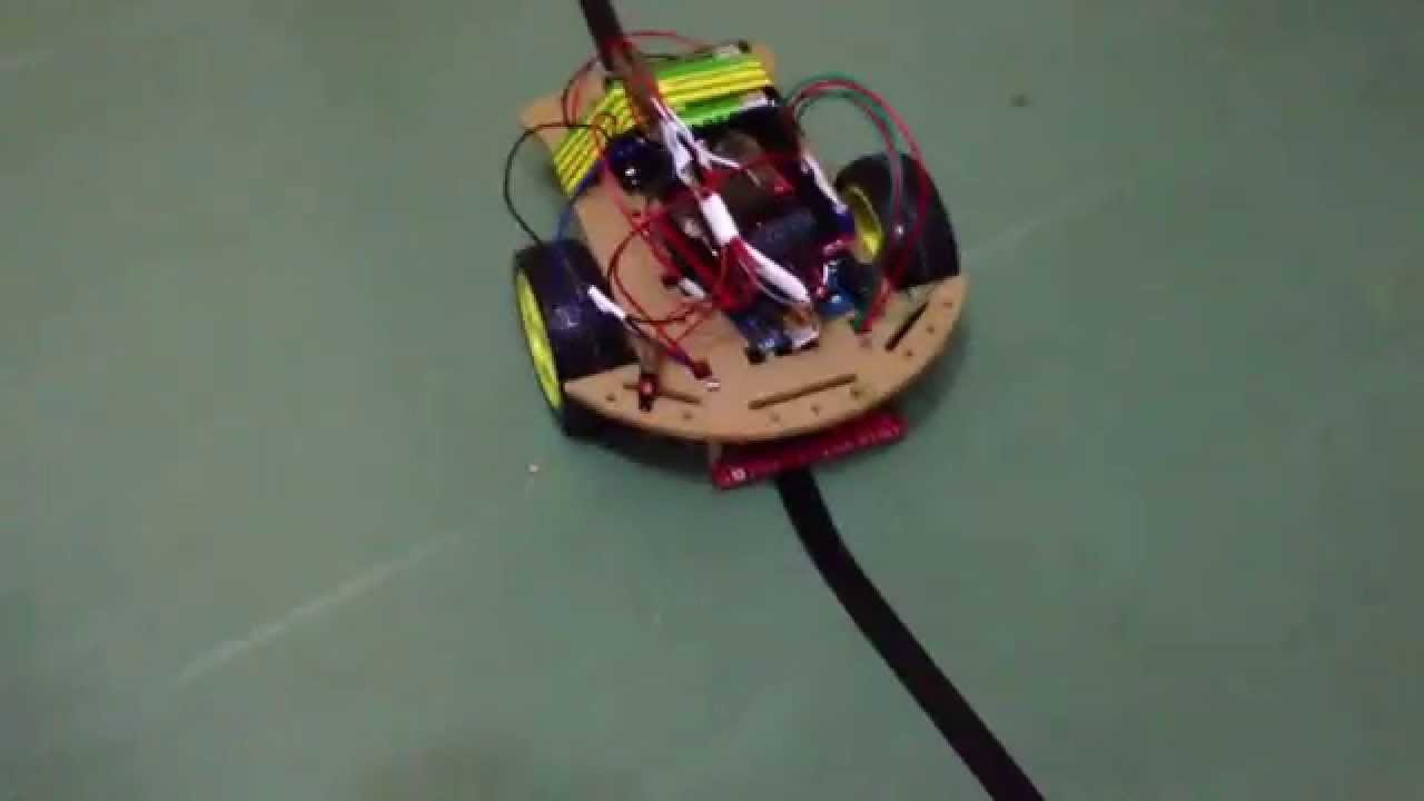Wd arduino line follower robot pid speed youtube