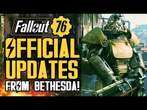 Fallout 76 - OFFICIAL Updates From Bethesda!  New Patches and Info About Future Updates! thumbnail