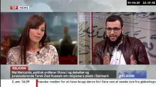 Debat imellem Tarek Ziad Hussein og Mai Mercado (K)