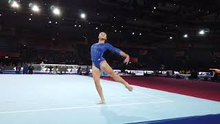 Gymnastics Worlds 2019: Team USA Floor Podium Training