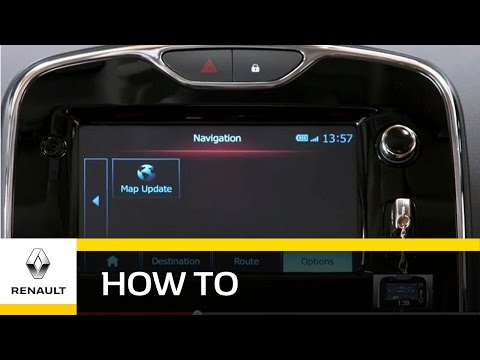 How To: Update the Renault MediaNav - Renault UK - YouTube