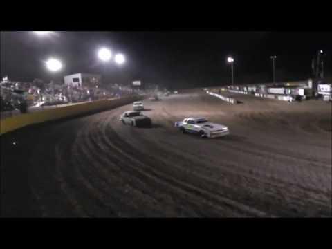 Salina Speedway Budweiser IMCA Hobby stock *A Feature* not all of but most 6-30-17