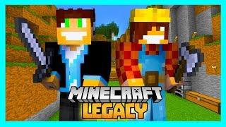 Minecraft Legacy #07 - SZYKUJEMY MIEJSCE NA DOM!