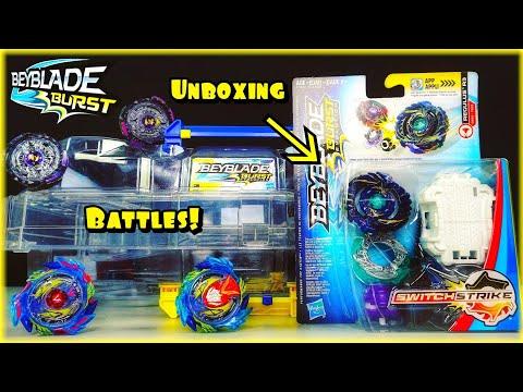 BEYBLADE BURST - LET'S BATTLE! / Strike Valtryek V3 / Noctemis N3 / Regulus R3 Unboxing and Test!