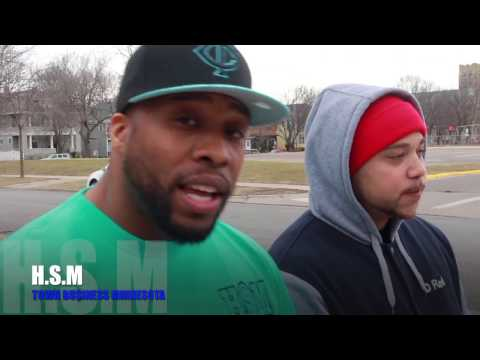 """H.S.M PEE DOT & D RED EXCLUSIVE """"TOWN BUSINESS MINNESOTA"""" VLOG#7"""