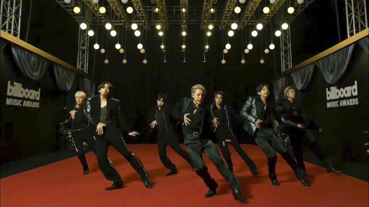 "BTS ""BUTTER"" BILLBOARD MUSIC AWARDS PERFORMANCE"