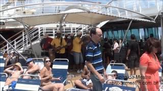 Samba de Roda e Pagode no Navio Splendour Royal Caribbean