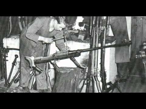 Boys anti-tank rifle WW2 UK - WW2 UK Fusil antitanque Boys