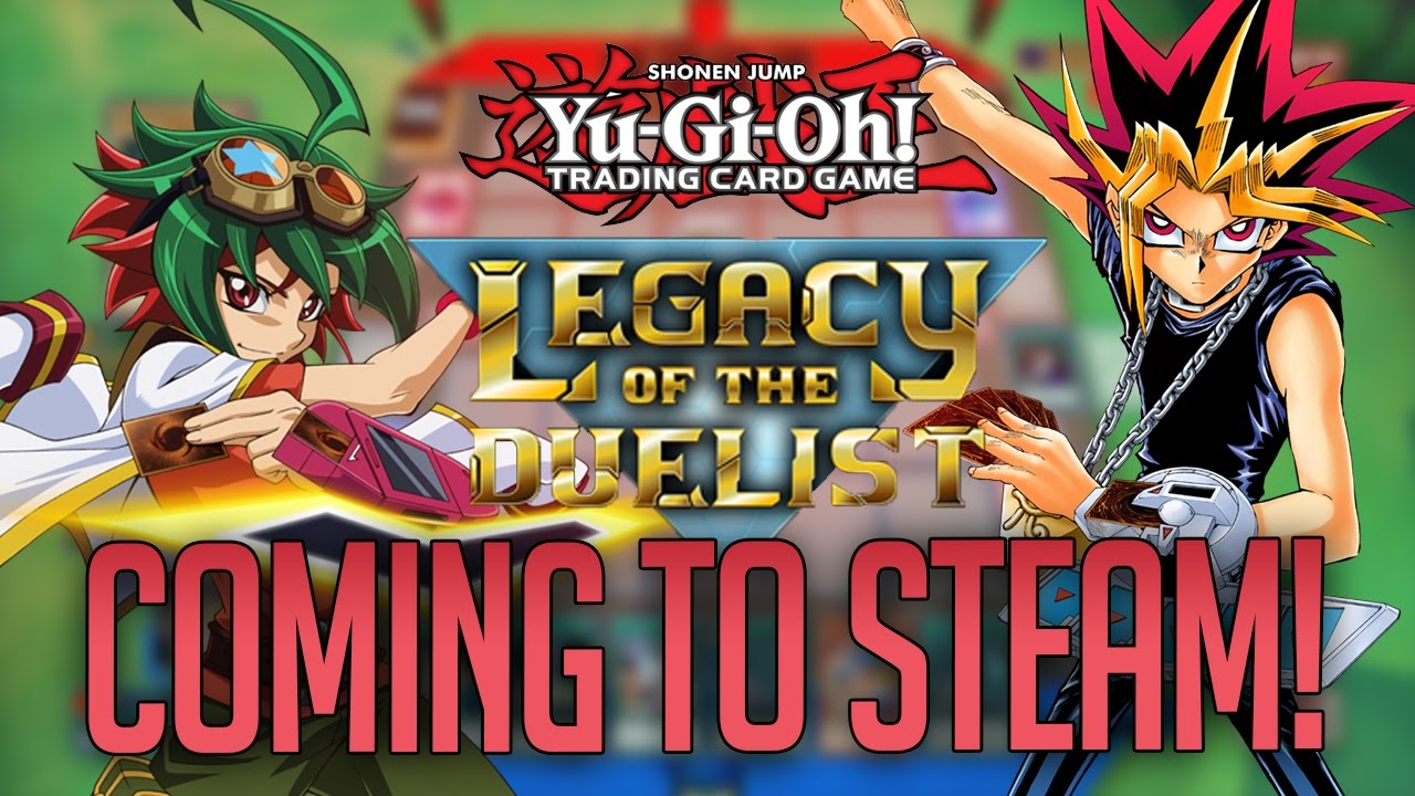 yu gi oh legacy of the duelist is coming to steam pc youtube