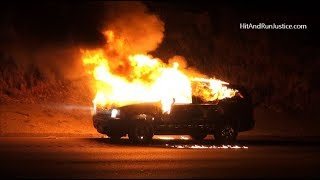 Car Fire with Explosions Chevy Tahoe 7K05520 SB I 5 Fwy South of Vista Del Lago Road LEBEC CA