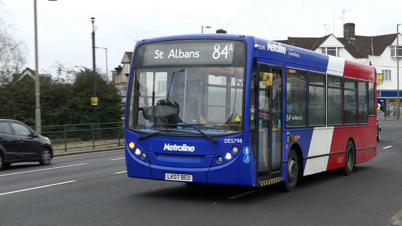 Metroline Buses On Routes 84 84a Amp 714 Barnet 13th Feb