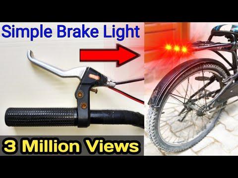 Brake Light, 👌👌👌💥💥, Bicycle Brake Light, Cycle Brake Light, Simple Brake Light, Learn Everyone