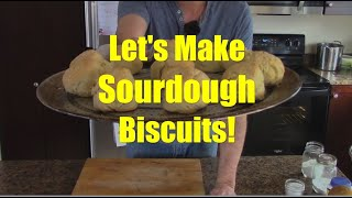 How to Make Sourḋough Biscuits