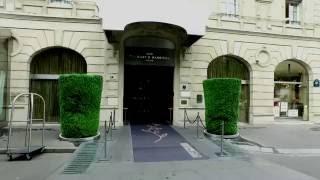 Spa Diane Barrière by Shiseido Bouquet's de l'hôtel Barrière Paris calme luxe et volupté.