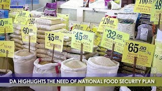 BIZWATCH:  Department Of Agriculture Highlights The Need Of National Food Security Plan