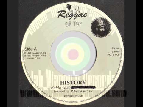 Pablo Gad ~ Barry Issac ~ History ~ Reggae On Top (1997)