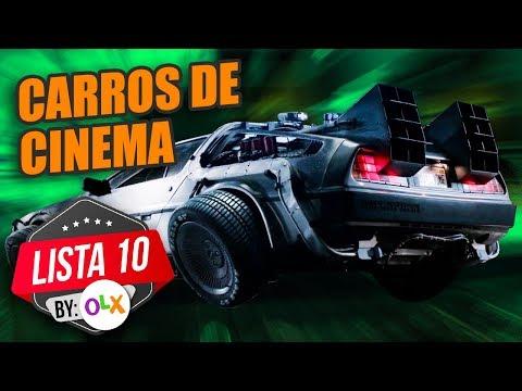 10 CARROS QUE MAIS FIZERAM SUCESSO NO CINEMA (by inscritos - OLX)