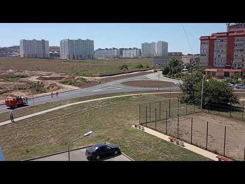 #Анапа МКР Горгиппия Выезд на ул. Ленина и Владимирскую РАЗМЕТКА!