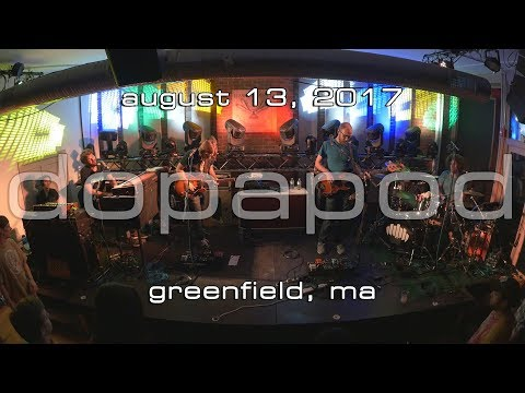 Dopapod: 2017-08-13 - Hawks and Reed; Greenfield, MA [4K]