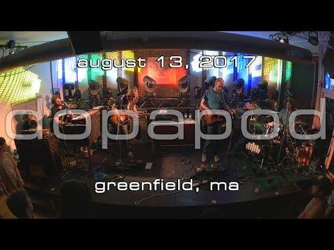 Dopapod: 2017-08-13 - Hawks and Reed; Greenfield, MA [4K]