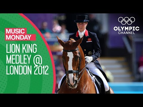 Download Youtube: The Lion King Medley in Equestrian Dressage at the London 2012 Olympics | Music Monday
