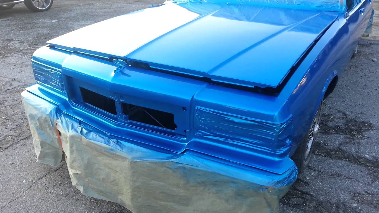 Kandy Oriental Blue Box Chevy By Dirk Diggler