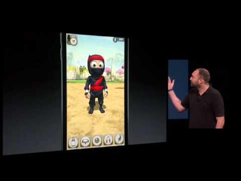 Torsten Reil   Clumsy Ninja   Apple Special Event, September 2012