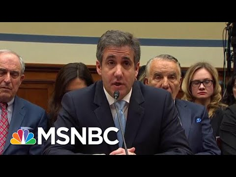 Watch When Michael Cohen's Trump Allegation Ensnared Trump Jr | The Beat With Ari Melber | MSNBC