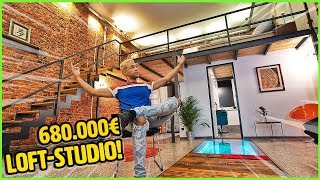 Mein neues 680.000€ Loft-Studio!! (ROOMTOUR)