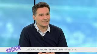 Cancer colorectal : se faire dépister est vital