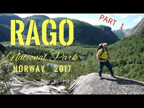Rago National Park Norway Day 1 - The Ultimate 2 day Backpacking Adventure