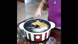 팝콘머신 집콕 영화보기 간식 가정용 소형 팝콘기계