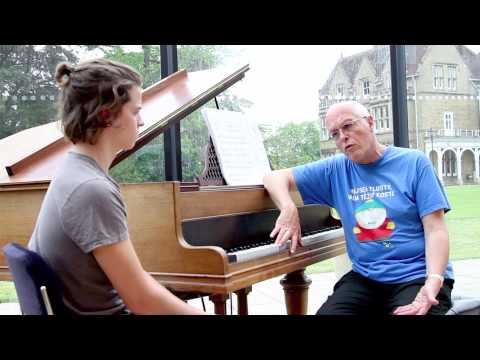 Interview with Michael Finnissy at the JdP Music Building