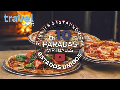 Ciudades gastronómicas de Estados Unidos en 10 paradas virtuales