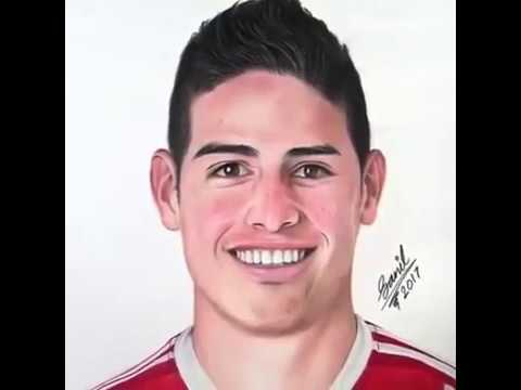 Dibujo De James Rodriguez Youtube