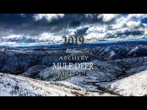 Part 1: MY FIRST IDAHO ARCHERY MULE DEER HUNT | MADE POSSIBLE BY YOUTUBE!