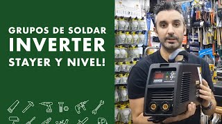 Grupos de soldar inverter STAYER y NIVEL!  👉2019