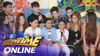 It's Showtime Online: TNT boys share their experience from United Kingdom