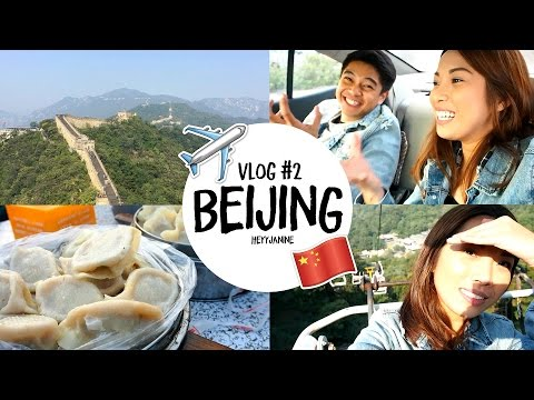 Vlog #2: BEIJING, The Great Wall of China