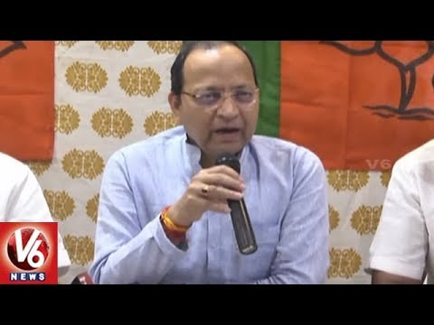 National BJP Secretary Amar Singh Press Meet On TDP & YCP No Confidence Motion | V6 News