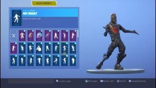 Fortnite nouvelle danse coût 0 VBucks HOT MARAT