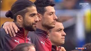 Spain vs Switzerland National Anthem (International Friendlies)