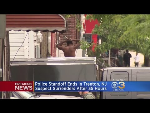 Suspect Surrenders After 2-Day Standoff With Police In Trenton