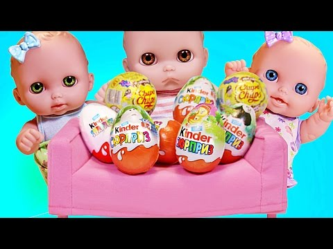 Куклы Пупсики открывают Сюрпризы Кунг Фу Панда, Холодное сердце Игрушки Зырики ТВ