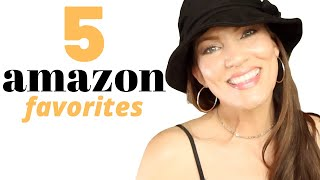 5 AMAZON FAVORITES!!! BEST sunhat! Hair Loss Shampoo, Sexy Sundress, Makeup Mirror & Eye Mask