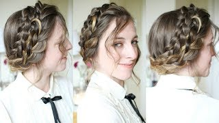 Holiday Braided Updo | Braided Hairstyles | Braidsandstyles12