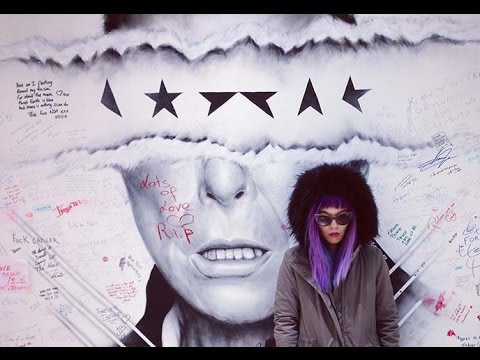 Brussels, Belgium! Fashion bloggers travel TV show: Binche carnival, David Bowie mural