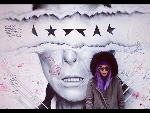 Brussels, Belgium! Fashion bloggers travel TV show: Binche carnival, David Bowie mural