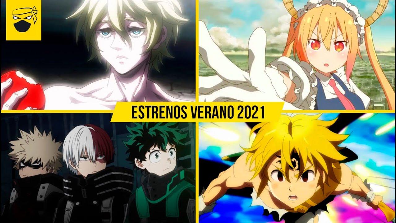 ESTRENOS Anime VERANO 2021   Estrenos Anime JUNIO 2021   Dart tv